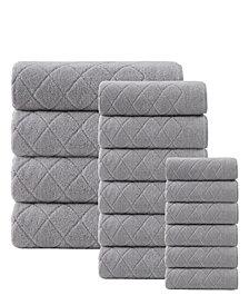 Enchante Home Gracious 16-Pc. Turkish Cotton Towel Set