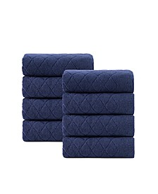 Gracious 8-Pc. Hand Towels Turkish Cotton Towel Set