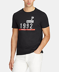 Polo Ralph Lauren Men's Big & Tall Active Fit P-Wing Cotton T-Shirt