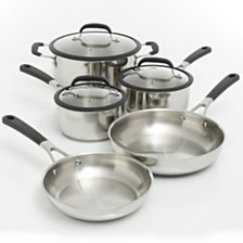 Oster Cuisine 8-piece Belton Stainless Steel Cookware Set