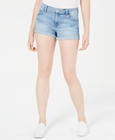 GUESS Drew Cuffed Denim Shorts