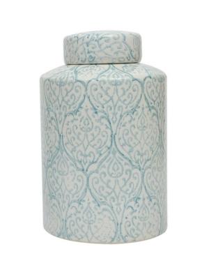 Image of Ceramic Ginger Jar (13), Multi-Colored