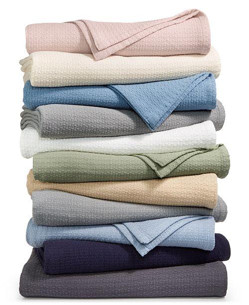 bbba8eeb64e2b Lauren Ralph Lauren Classic 100% Cotton Blankets   Reviews ...