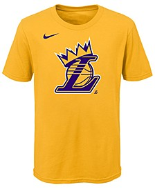 Lebron James Los Angeles Lakers Kings Crown T-Shirt, Little Boys (4-7)