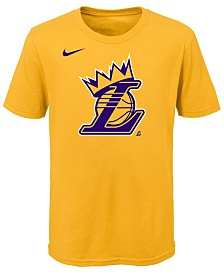 Nike Lebron James Los Angeles Lakers Kings Crown T-Shirt, Little Boys (4-7)