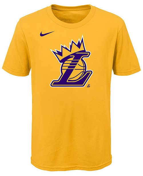 save off d0825 83af4 Lebron James Los Angeles Lakers Kings Crown T-Shirt, Little Boys (4-7)
