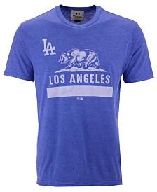 Authentic MLB Apparel Men's Los Angeles Dodgers Hometown Tri-Blend T-Shirt