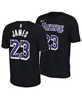 17d63249546a Nike Men's LeBron James Los Angeles Lakers Dark Icon Player T-shirt