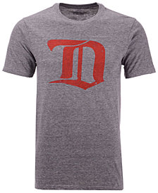 Majestic Men's Detroit Red Wings Tri-Blend Team Logo T-Shirt