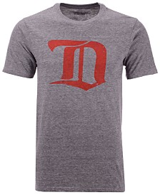 Majestic Men's Detroit Red Wings Tri-Blend Team Logo T-Shirt