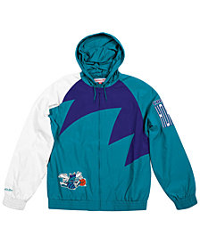 Mitchell & Ness Men's Charlotte Hornets Shark Tooth Jacket
