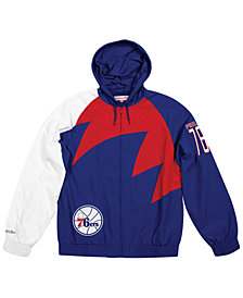 Mitchell & Ness Men's Philadelphia 76ers Shark Tooth Jacket