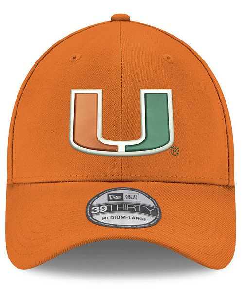 New Era Boys' Miami Hurricanes 39THIRTY Cap & Reviews