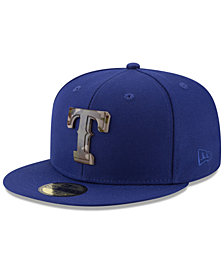 New Era Texas Rangers Camo Capped 59FIFTY-FITTED Cap