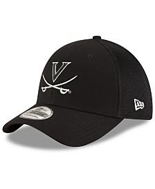 New Era Virginia Cavaliers Black White Neo 39THIRTY Cap