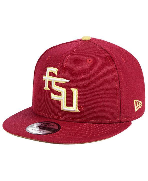 New Era Florida State Seminoles Core 9FIFTY Snapback Cap