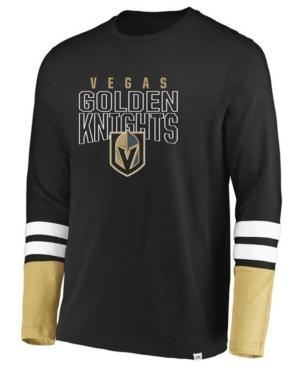 Men's Vegas Golden Knights 5 Minute Major Long Sleeve T-Shirt