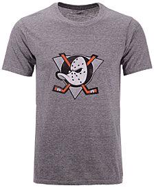 Majestic Men's Anaheim Ducks Tri-Blend Team Logo T-Shirt