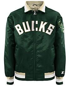 Men's Milwaukee Bucks Starter Captain II Satin Jacket