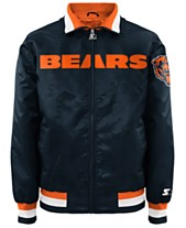 G-III Sports Men s Chicago Bears Starter Captain II Satin Jacket ac1255f9d