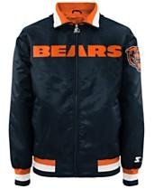 5177a9ff6 G-III Sports Men s Chicago Bears Starter Captain II Satin Jacket