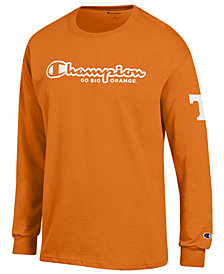 Champion Men's Tennessee Volunteers Co-Branded Long Sleeve T-Shirt