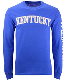 Colosseum Men's Kentucky Wildcats Midsize Slogan Long Sleeve T-Shirt
