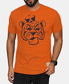 Retro Brand Men's Auburn Tigers Mock Twist Vault Logo T-Shirt