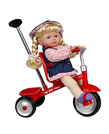 """Kid Concepts 12"""" Baby Doll with Trike"""