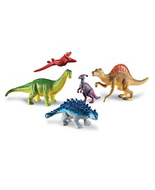 Learning Resources Jumbo Dinosaurs Expanded Set 2 - Set of 5