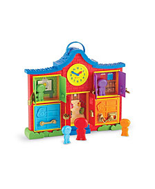 Learning Resources Latch and Learn School House 6 Pieces