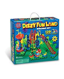 Learning Resources Gears Gears Gears Dizzy Fun Land Motorized Gears Set 120 Pieces