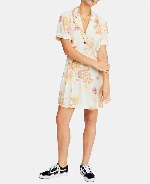 Free People Hawaii Mini Dress
