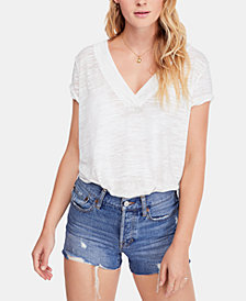 Free People High-Low T-Shirt