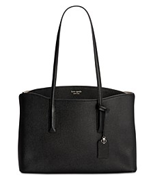Margaux Leather Work Tote