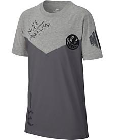 Nike Big Boys Sportswear-Print Cotton T-Shirt