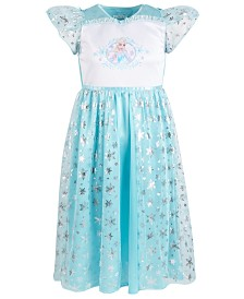 Frozen Little & Big Girls Elsa Nightgown