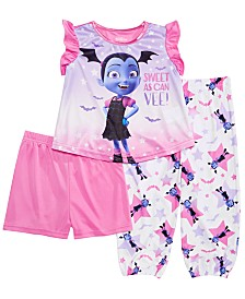 Vampirina Toddler Girls 3-Pc. Vampirina Pajama Set