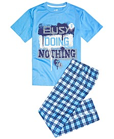 Big Boys 2-Pc. Busy Pajama Set