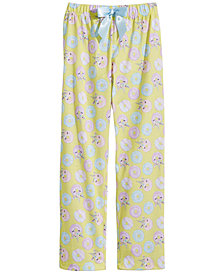 Max & Olivia Big Girls Printed Pajama Pants, Created for Macy's