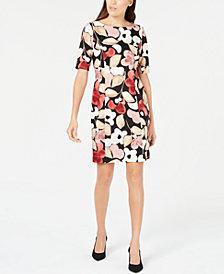 Alfani Petite Floral-Print Sheath Dress, Created for Macy's
