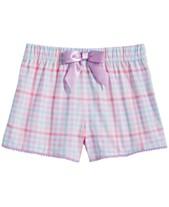 9db346719 Max & Olivia Big Girls Printed Pajama Shorts, Created for Macy's