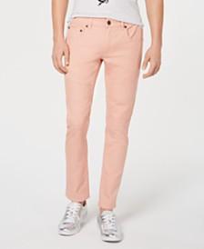 I.N.C. Men's Moto Stretch Skinny Jeans, Created for Macy's