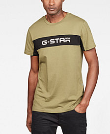 G-Star RAW Men's Colorblocked Logo Graphic T-Shirt, Created for Macy's
