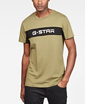 565e60a19 G-Star RAW Men's Colorblocked Logo Graphic T-Shirt, Created for Macy's