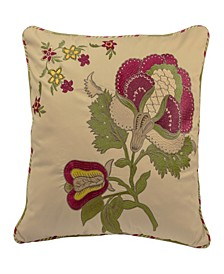 Imperial Dress 20-inch Decorative Pillow