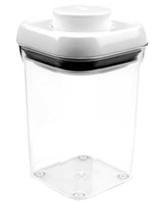 ... OXO Food Storage Container, .9 Qt. Small Square Pop ...