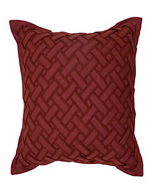 Waverly Fresco Flourish Textured Decorative Pillow