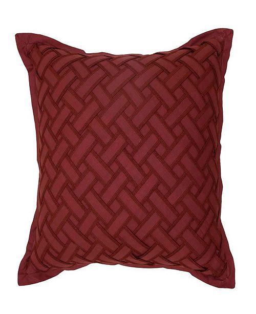 Waverly Fresco Flourish Textured Decorative Pillow