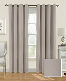 Eclipse Nadya Solid Blackout 52X95 Window Curtain Panel